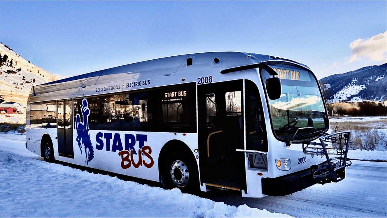START Bus Unveils Wyoming's First Electric Buses: Proterra ZX5