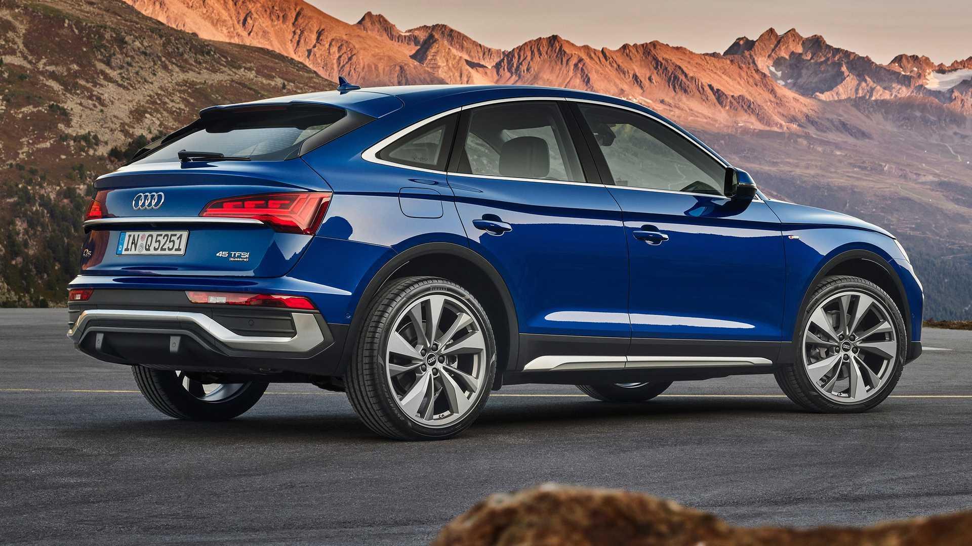 Nuova Audi Q5 Sportback, linee dinamiche e versatilità da SUV
