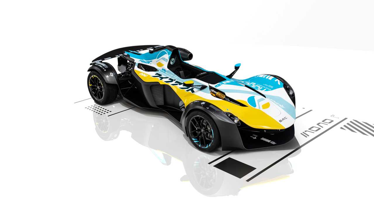 First BAC Mono R #1 given outrageous 'Wipeout' livery