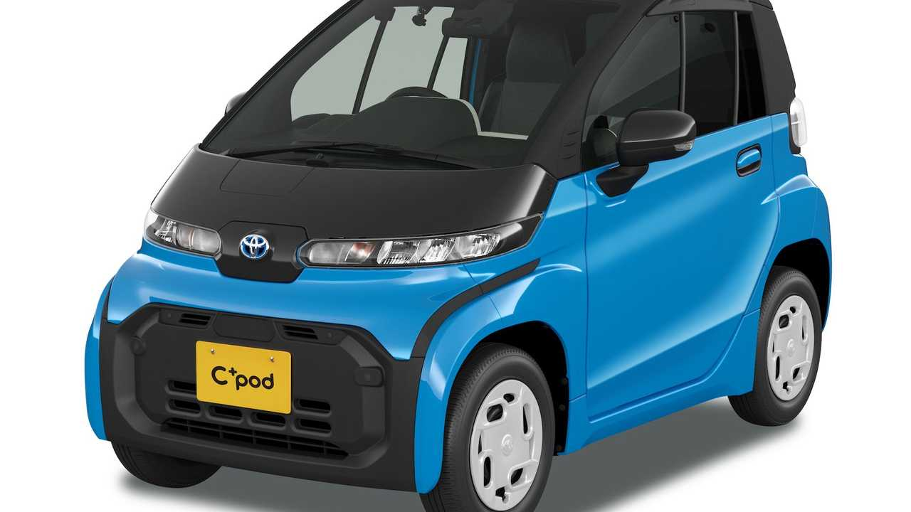 Toyota C Pod Keandalan Mobil Listrik Yang Kolaboratif