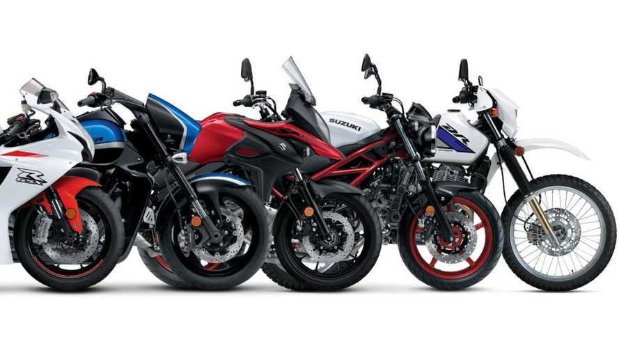 Suzuki Confirms Remaining 2021 Motorcycle Models