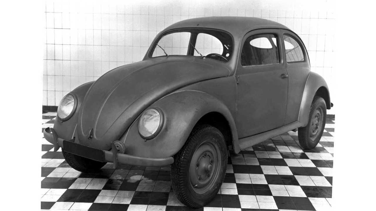 VW Käfer: Beginn der Serienproduktion 1945