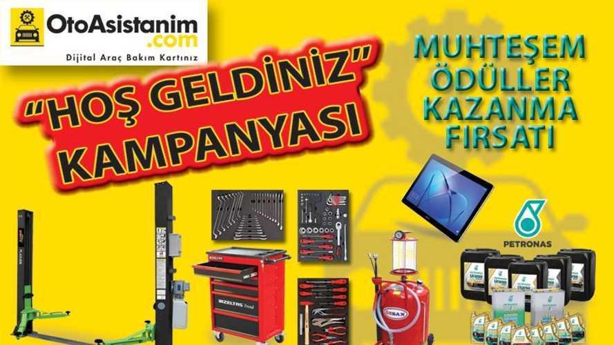 """OtoAsistanım'dan servislere yönelik """"Hoşgeldiniz Kampanyası"""""""