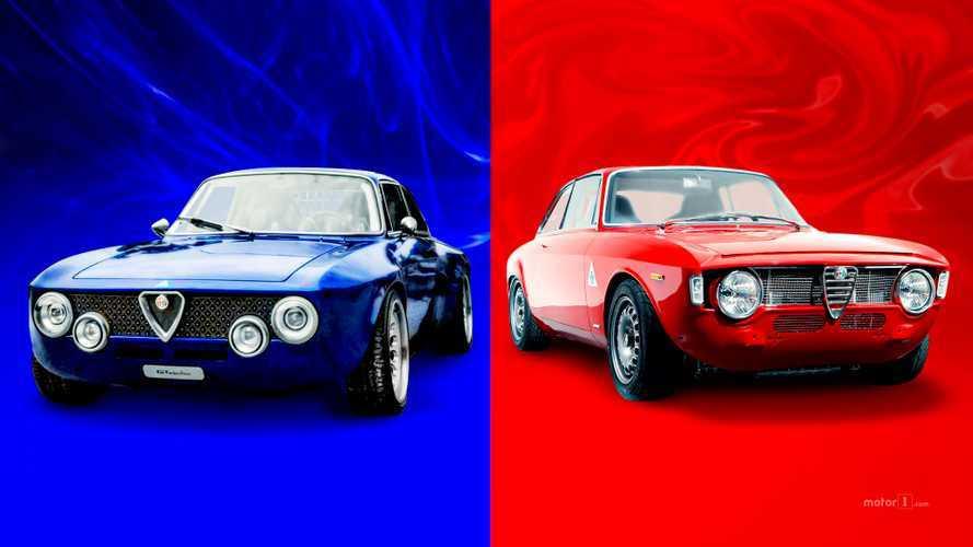 Restomod da sogno: meglio un'Alfa Romeo elettrica o benzina?