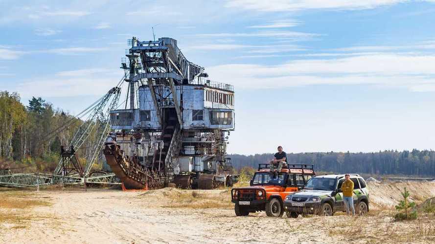 Экспедиционный «УАЗ Хантер», Lada Niva Off-road и Takraf ERs 710