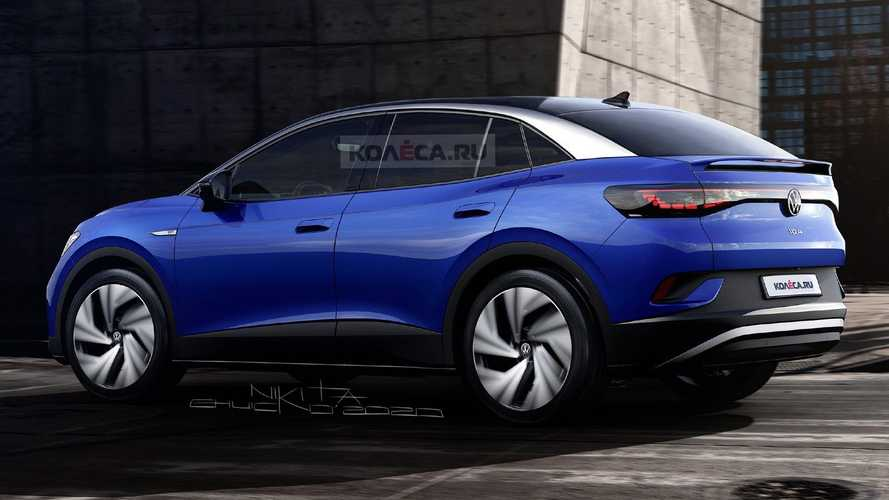 VW ID.4 Coupe renderings