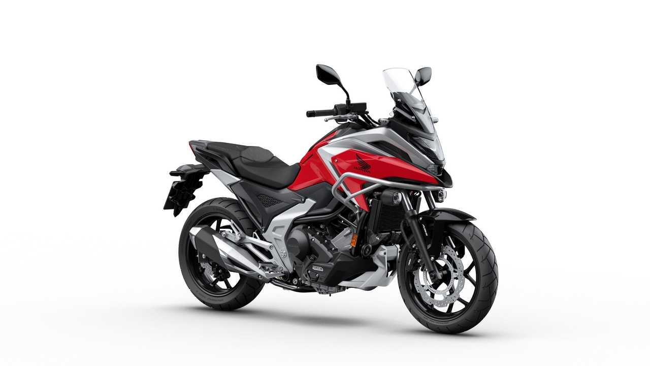 2021 Honda NC750X Red Right Side Angle