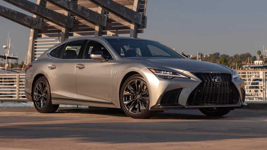 2021 Lexus LS Revealed In The US With More Comfort And A Touchscreen
