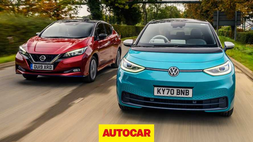 Autocar Compares VW ID.3 To Nissan LEAF To See Which EV Is Better
