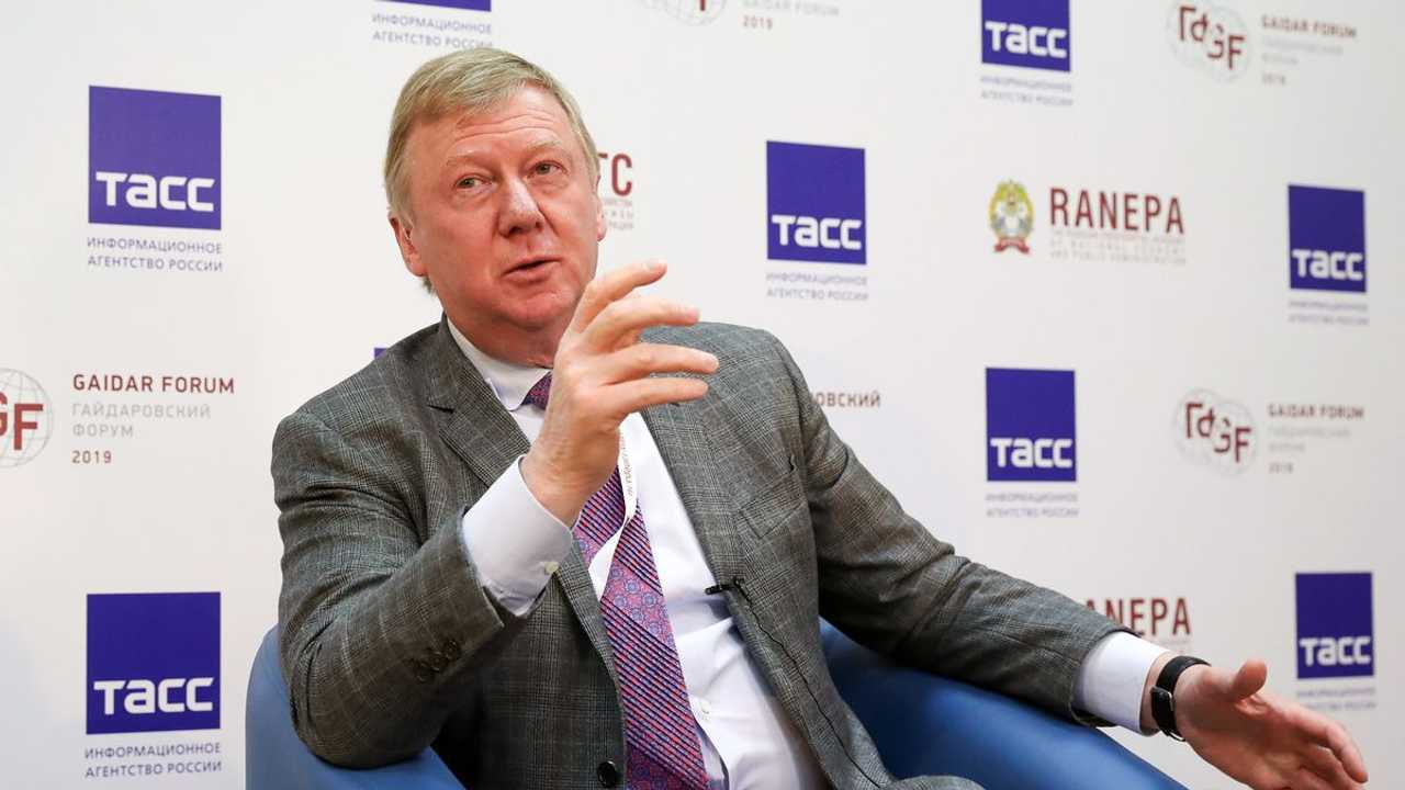Анатолий Чубайс. Фото с сайта