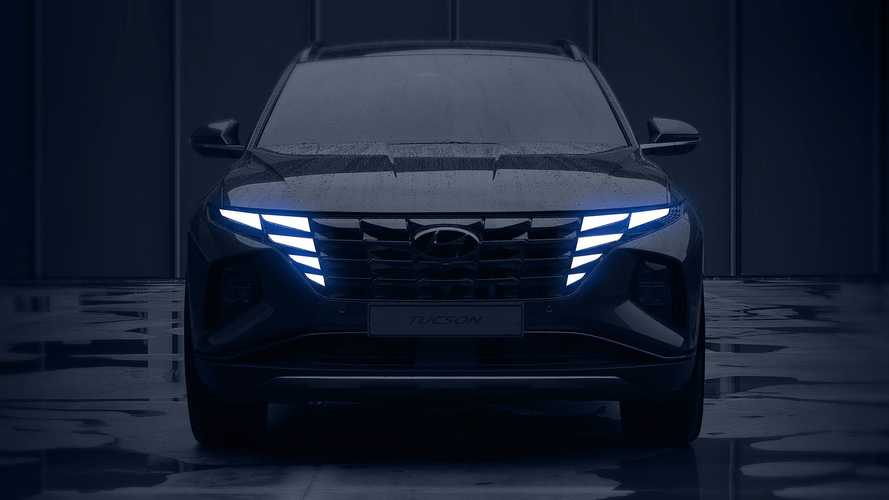 2021 Hyundai Tucson Teased With Fascinating Lights And High-Tech Cabin