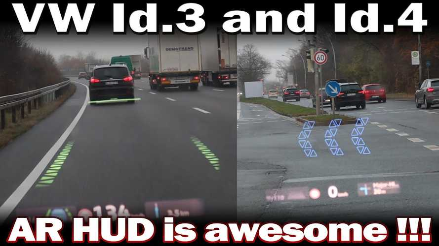 Check Out The VW ID's Augmented Reality Heads-Up Display In Action