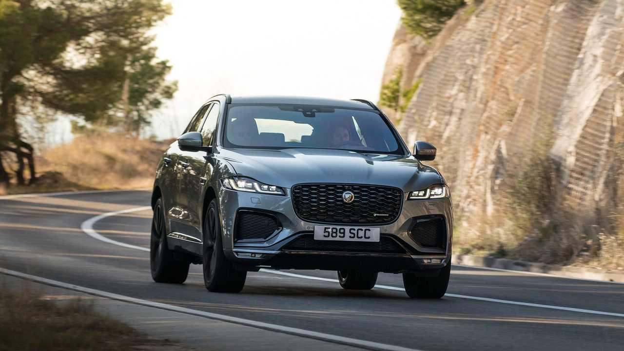 Jaguar F-Pace (2020), экстерьер