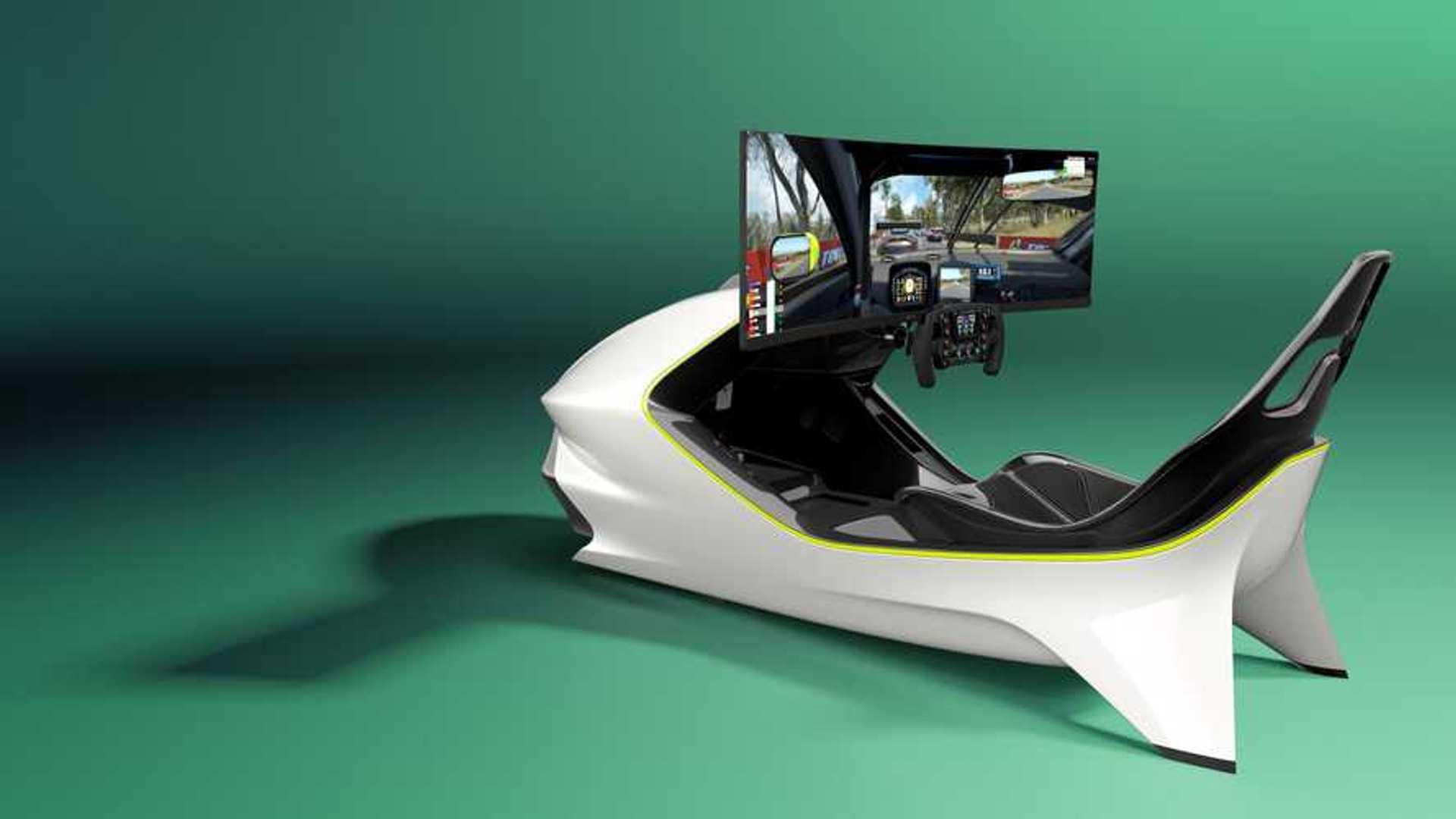 The Aston Martin Of Racing Simulators Costs Porsche Boxster S Money