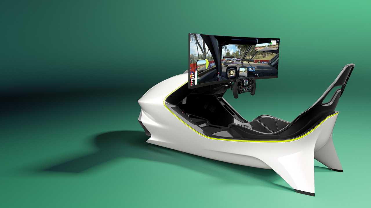 Aston Martin AMR-C01 simulador de carreras