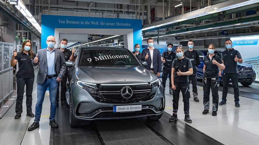 9th Million Mercedes-Benz Produced In Bremen Happens To Be EQC
