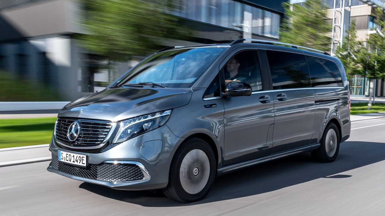 Mercedes-Benz EQV 300 – AVANTGARDE Line, EQV Design-Paket Exterieur, Selenitgrau metallic