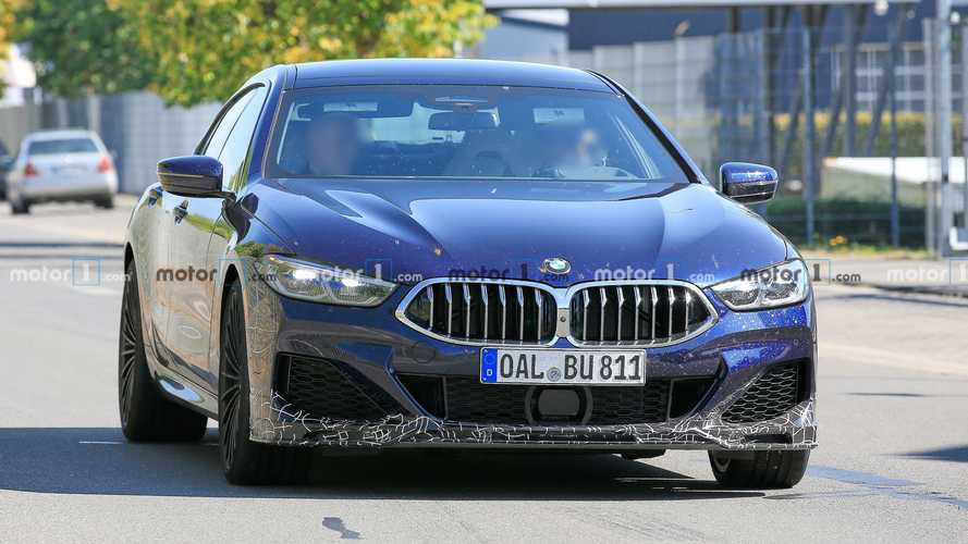 Alpina B8 Gran Coupe Spied Looking Suave At The Nurburgring