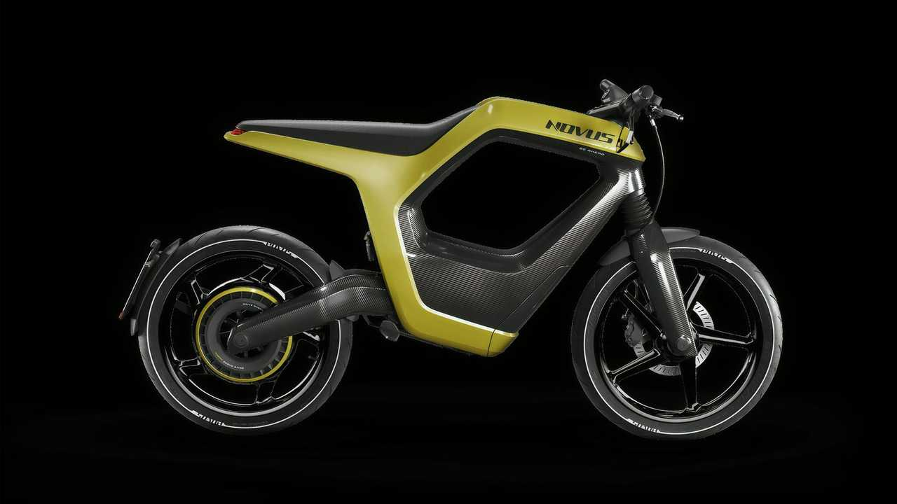 Novus Electric Bike Gold