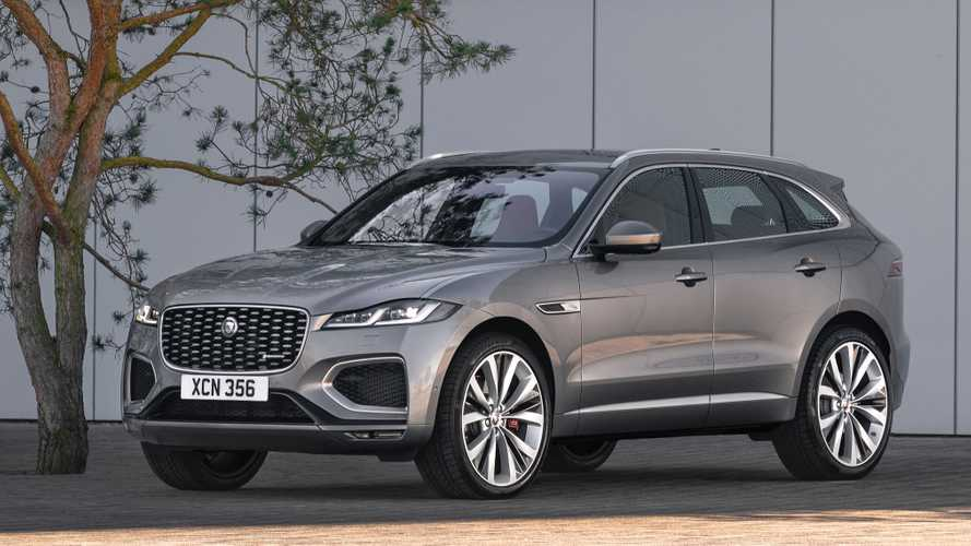 Facelifted Jaguar F-Pace comes in at just under £41,000