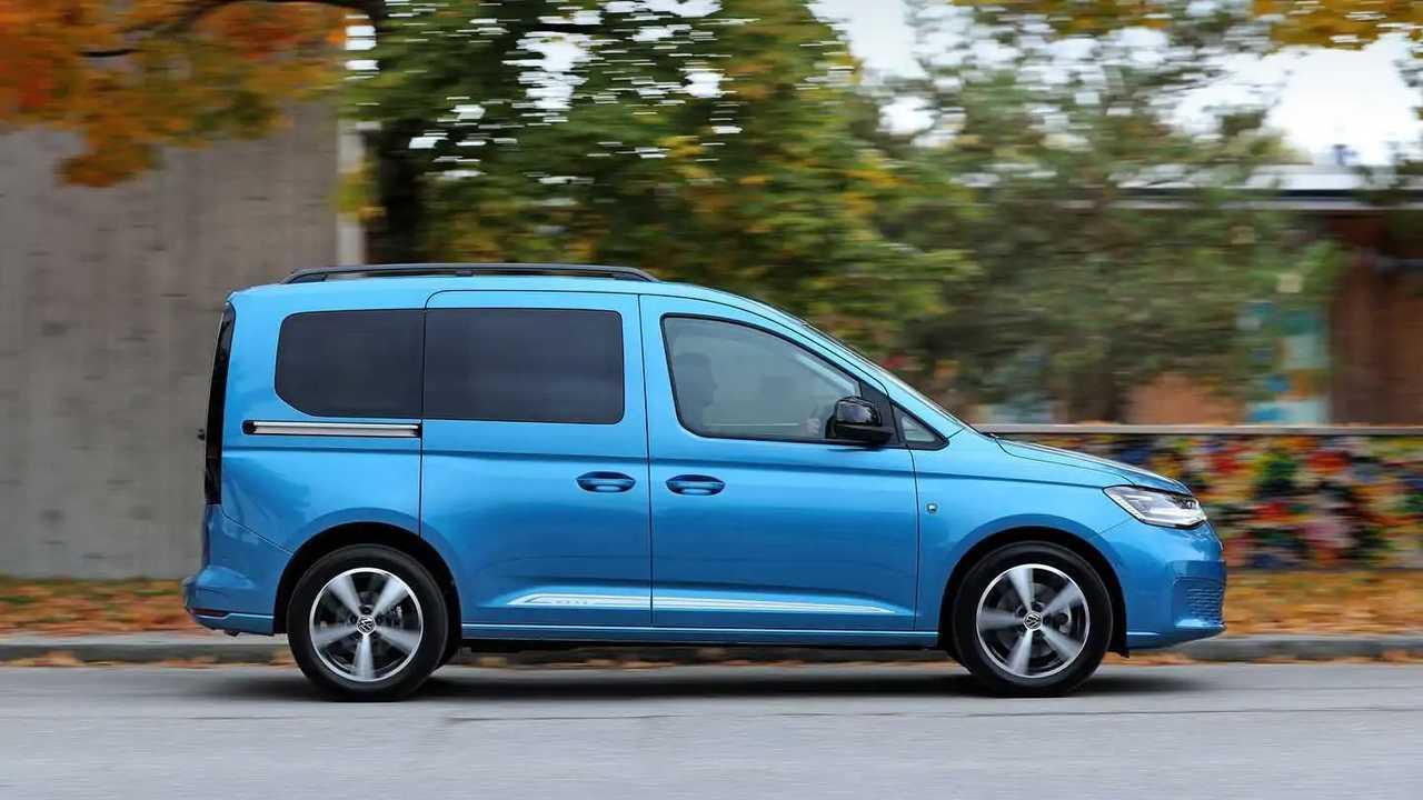 VW Caddy (2021) in Blau   Motor1.com Fotos