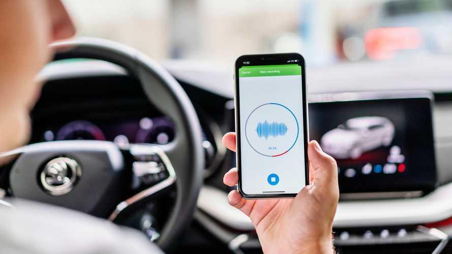 Manutenzione auto, un'app di Skoda trova il problema ascoltando i rumori
