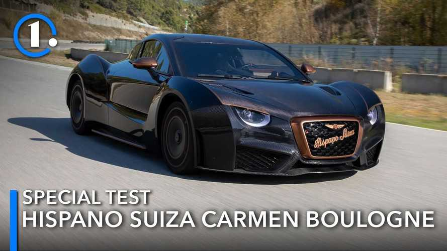 Hispano Suiza Carmen Boulogne special test: Art in motion