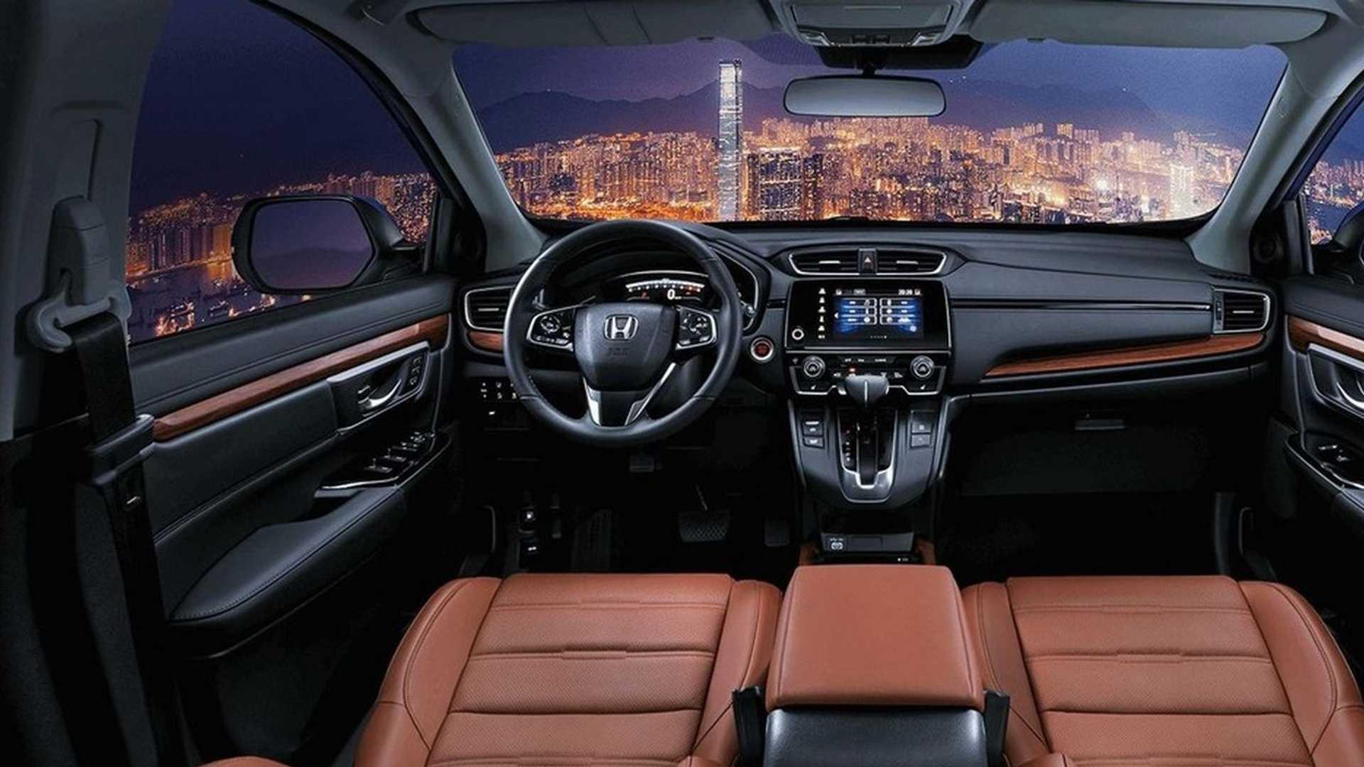Honda CR-V PHEV - painel