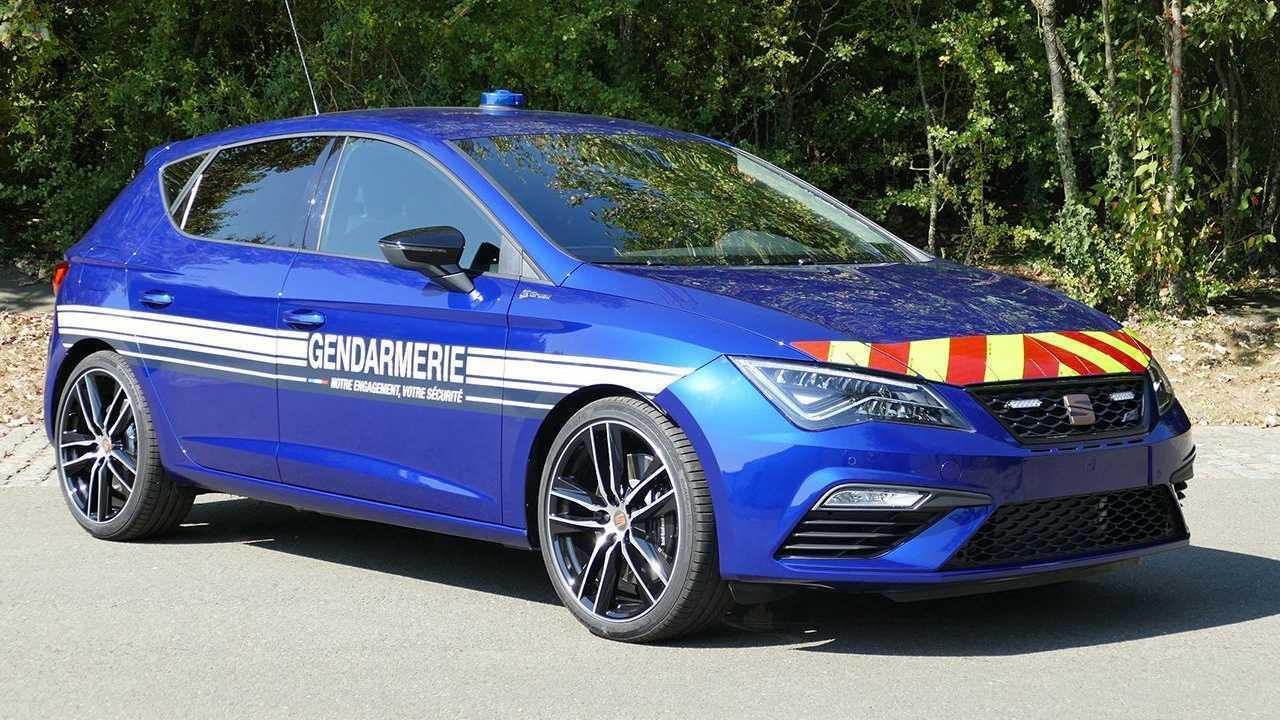 SEAT León CUPRA de la Gendarmerie