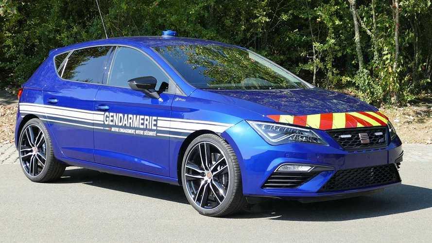 La policía francesa se enamora del SEAT León CUPRA y sus 300 CV