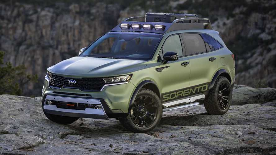 2021 Kia Sorento Channels National Parks With Yosemite, Zion Concepts