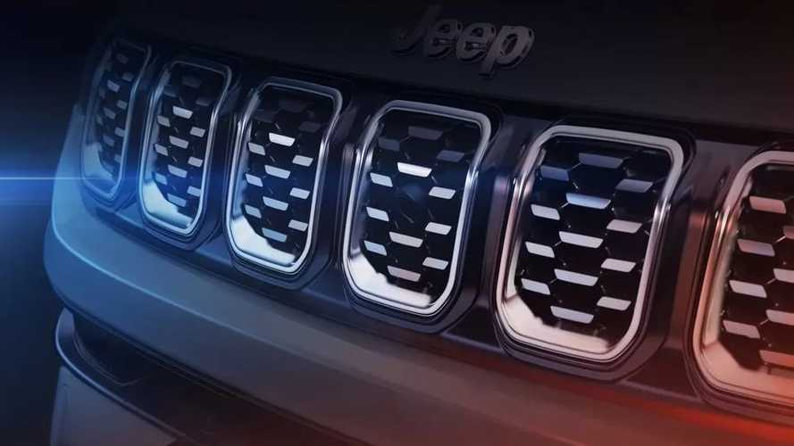 Jeep Compass restyling 2021, i teaser