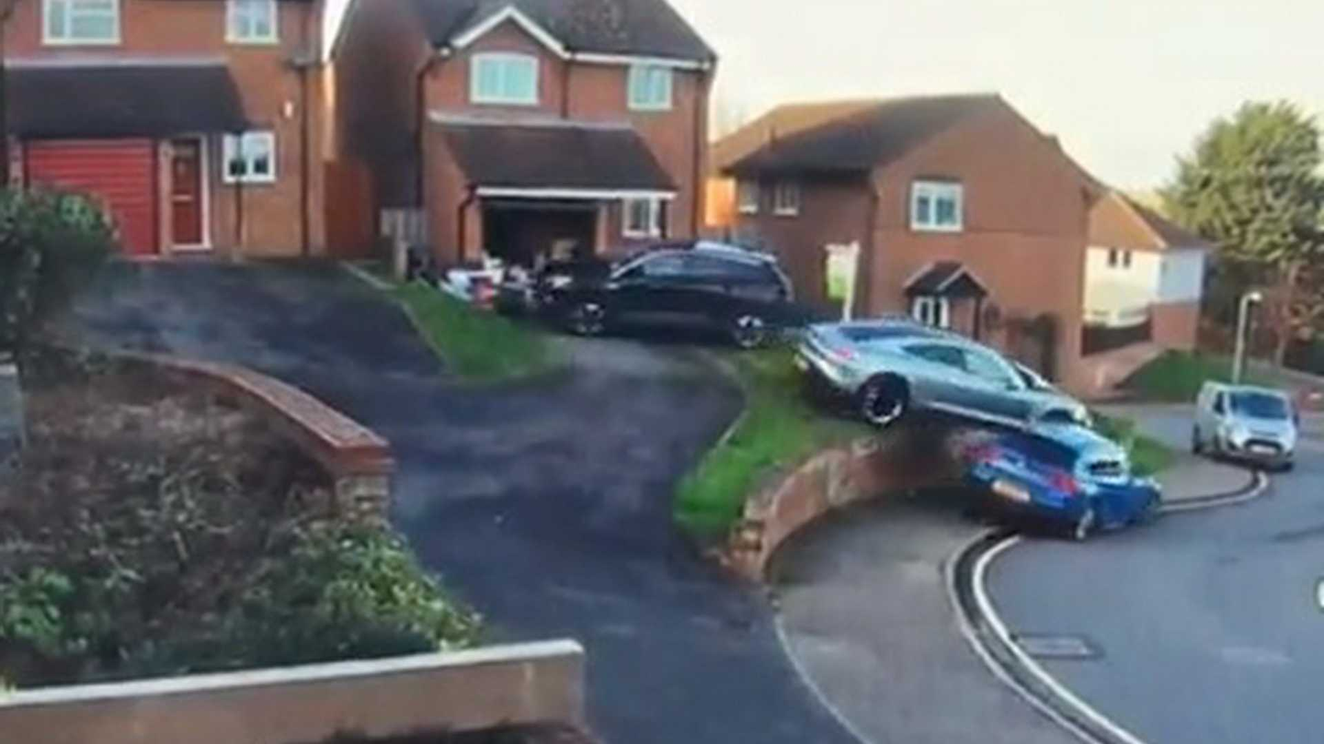 photo of Porsche Taycan Hits Two Cars In Parking Maneuver Gone Terribly Wrong image
