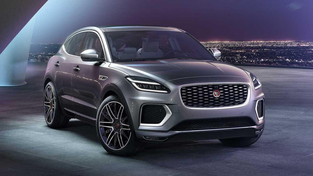 Jaguar E-Pace restyling (2020)