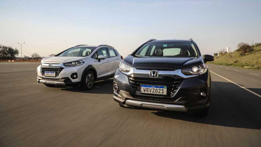 Novo Honda WR-V 2021 ganha controle de estabilidade e parte de R$ 83.400