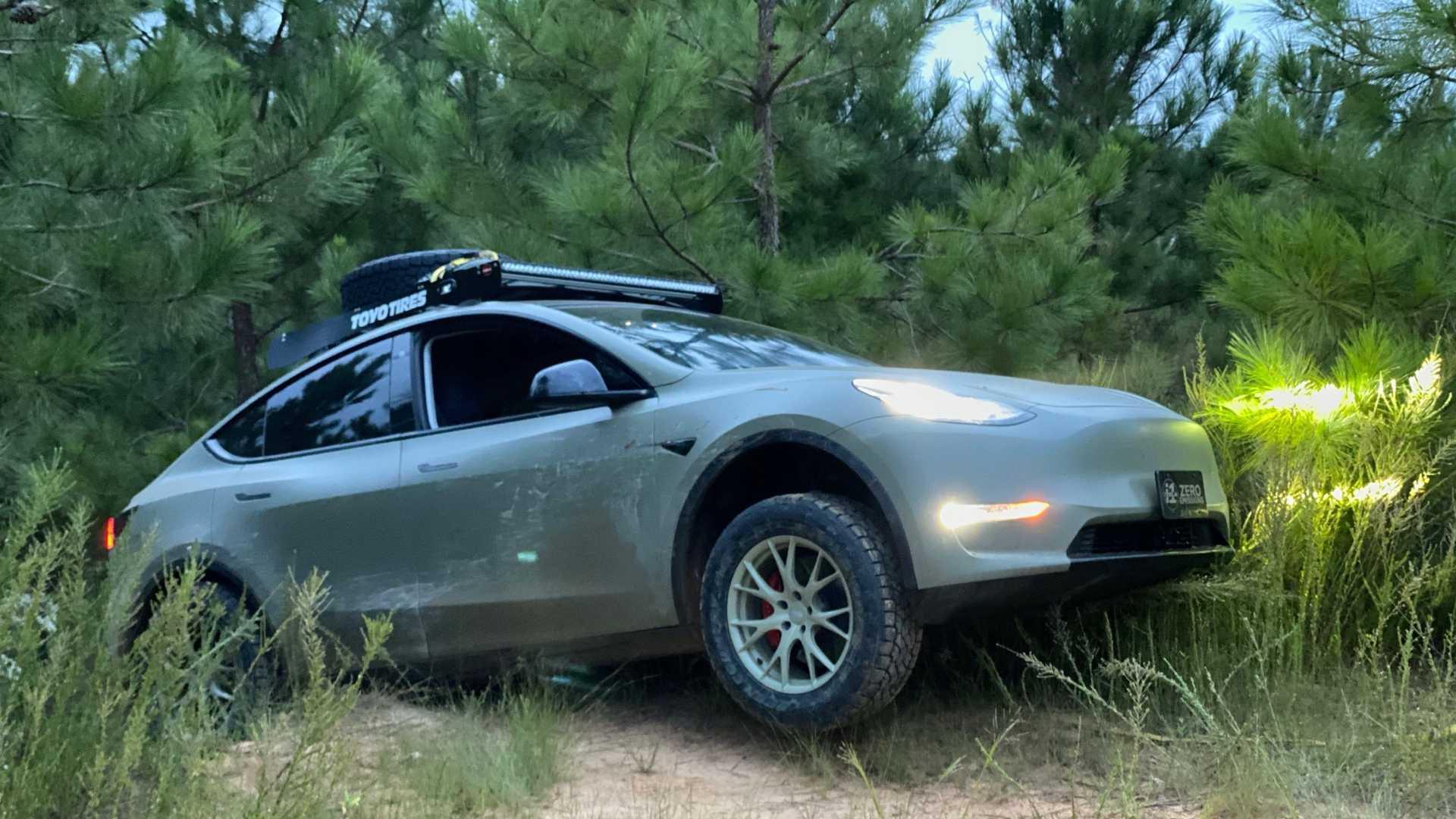 Tesla Model Y Off-Road Fun
