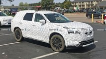 Nissan Pathfinder Interior Spy Photos