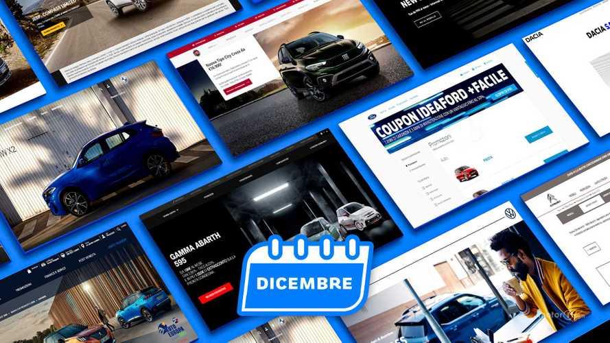 Promozioni auto, tutte le offerte di dicembre 2020