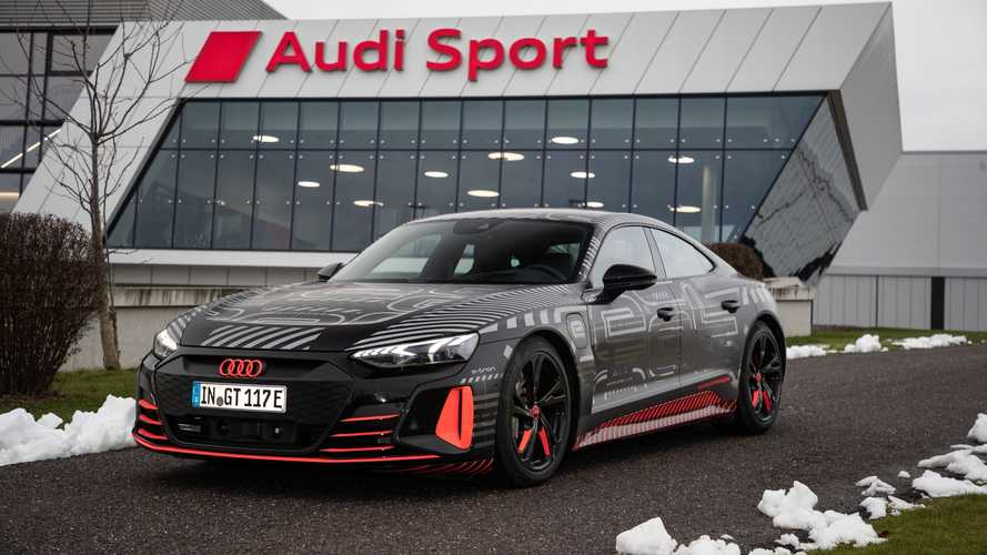 Audi e-tron GT Enters Production
