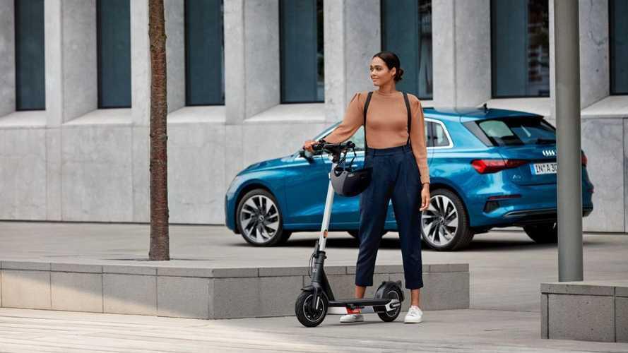 Audi presenta su nuevo patinete eléctrico, con 65 km de autonomía