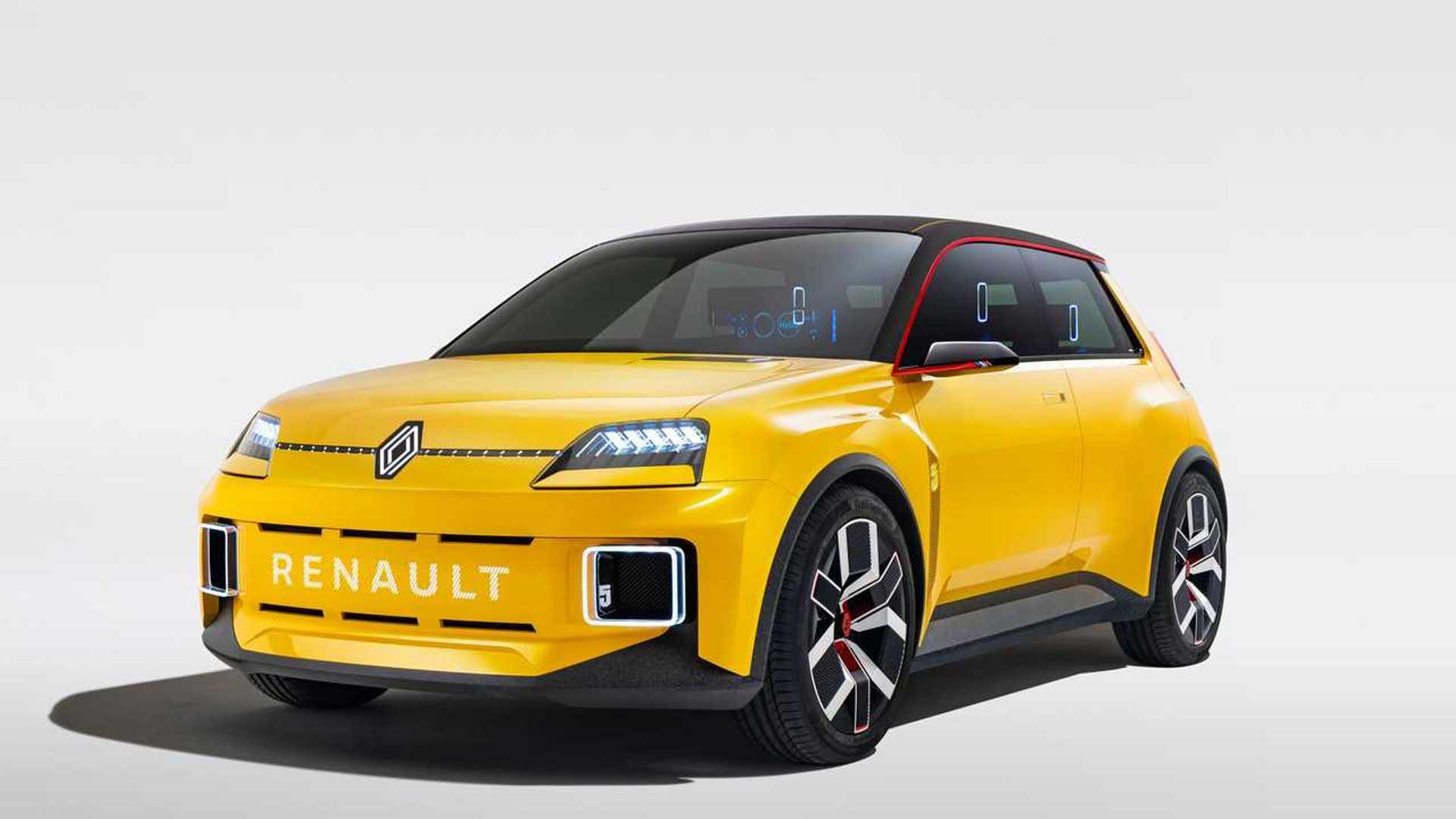 Renault представил доступный электрокар