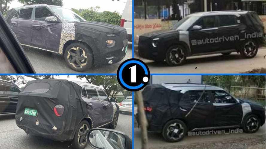 Novo Hyundai Creta reforça testes no Brasil (5 lugares) e Índia (7 lugares)
