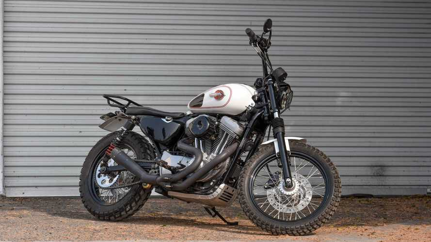 Custom Harley-Davidson Sportster Wants To Scramble Into Your Life