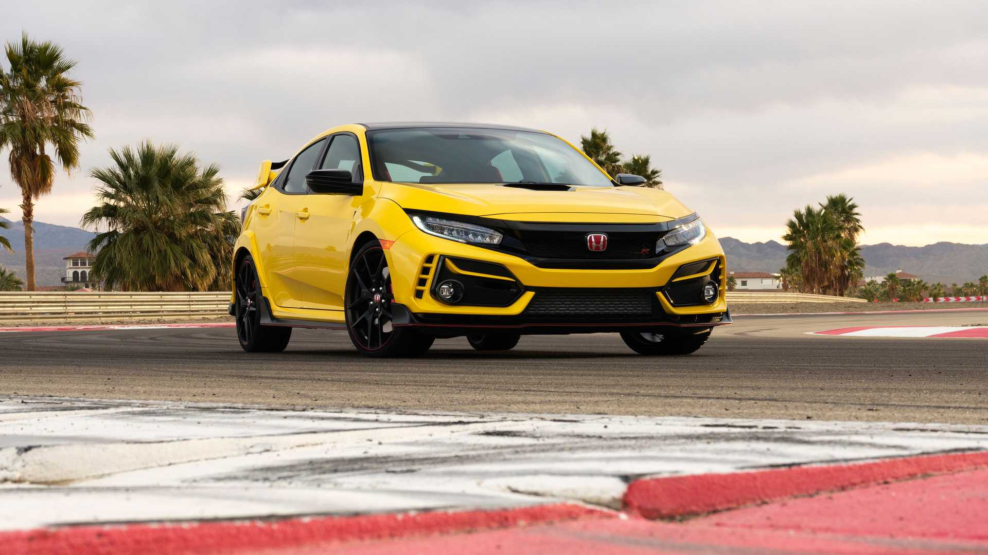 2021 Honda Civic Type R Limited Edition Front Quarter