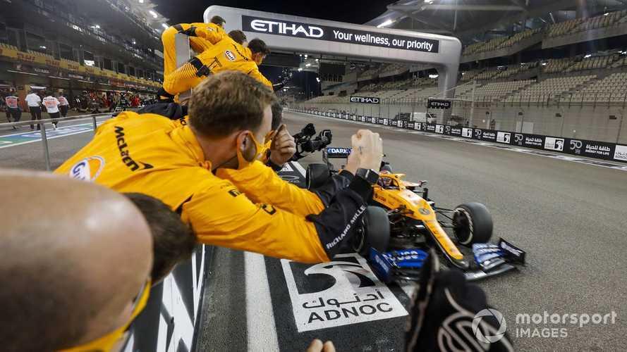 McLaren: Prestige not money main reward for third place in F1