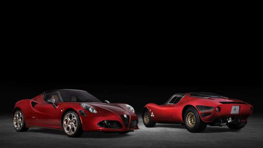 """Alfa Romeo 4C Spider, negli USA l'edizione speciale """"33 Stradale"""""""