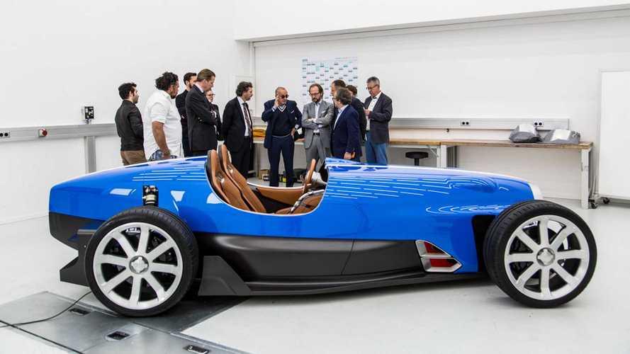 Découvrez l'étude de style d'une Bugatti Type 35 des temps modernes