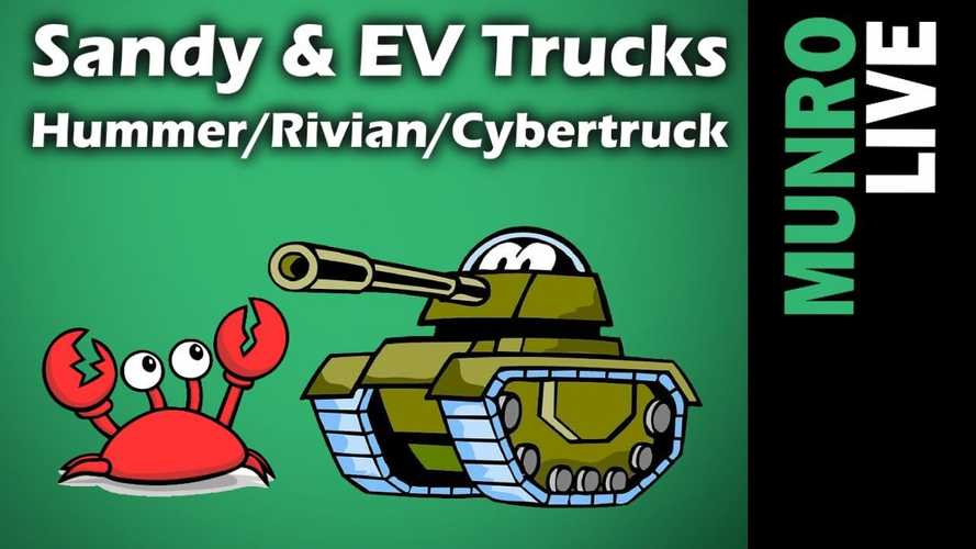 Sandy Munro Compares Hummer EV To Tesla Cybertruck, Rivian R1T