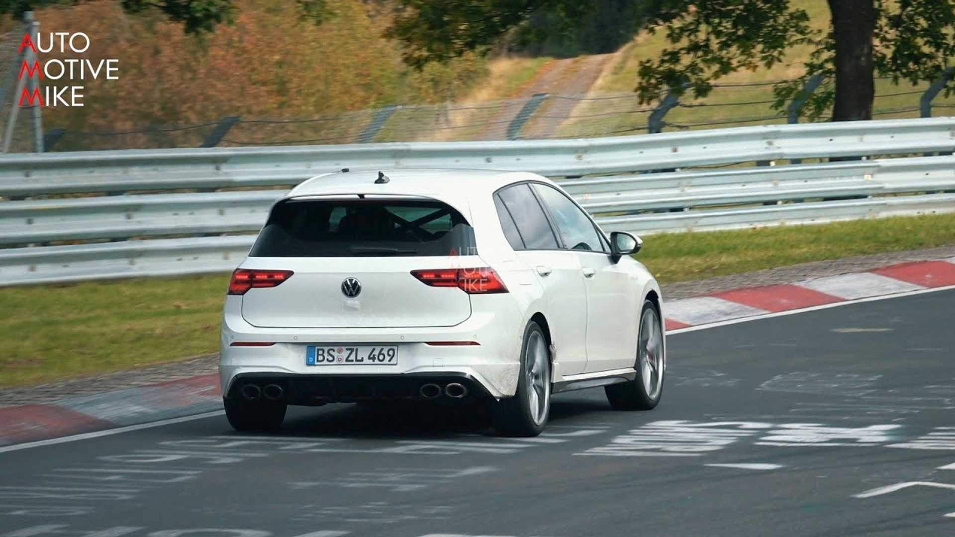 New Volkswagen Golf R Spied During Final Testing - Motor1