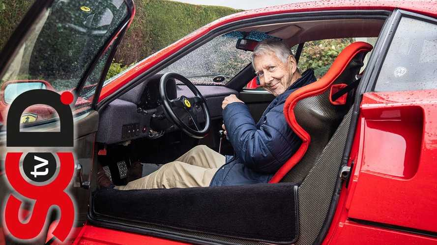 Meet The 80-Year Old Who Still Drives His Ferrari F40